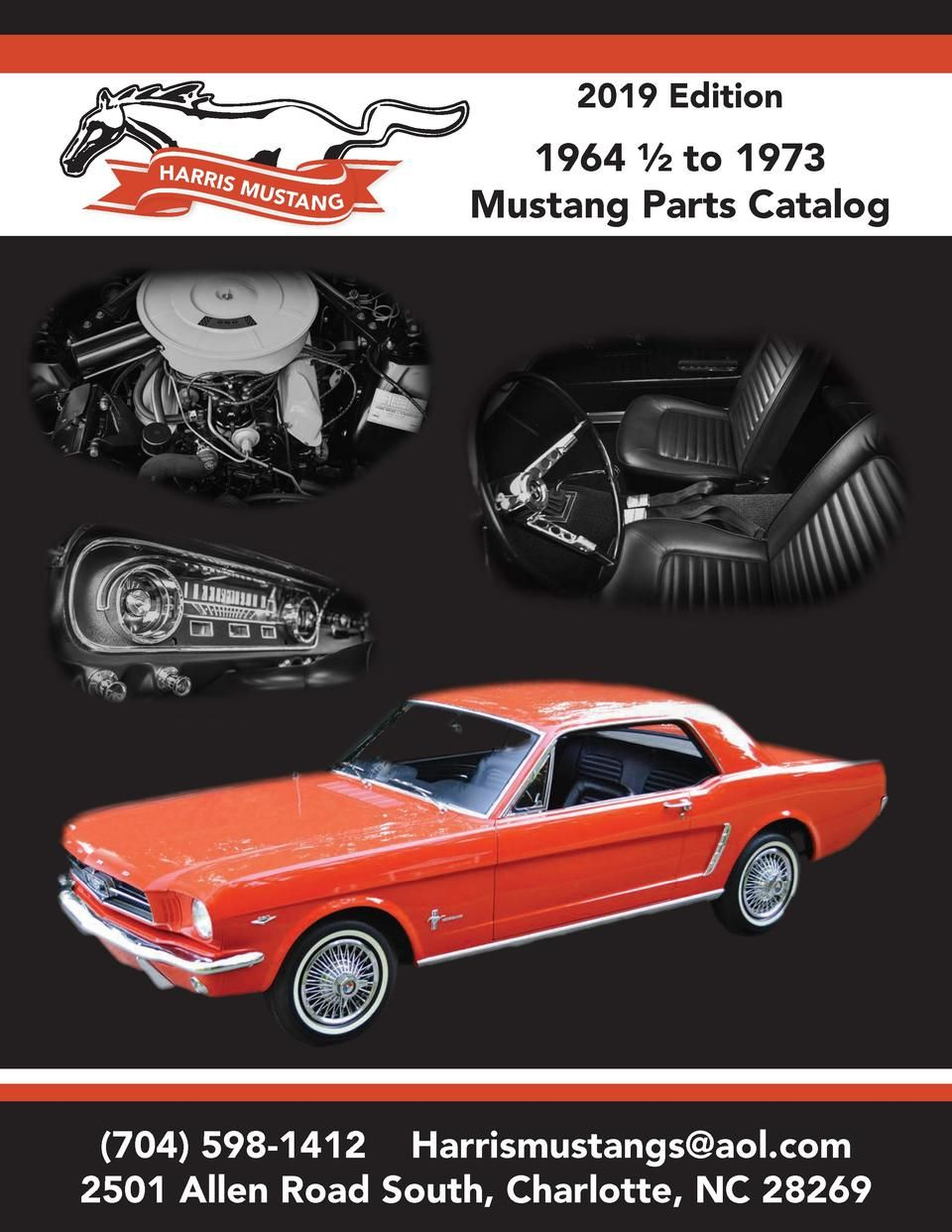 1967 Ford Mustang Fastback Official T-shirt 7055 automotive art