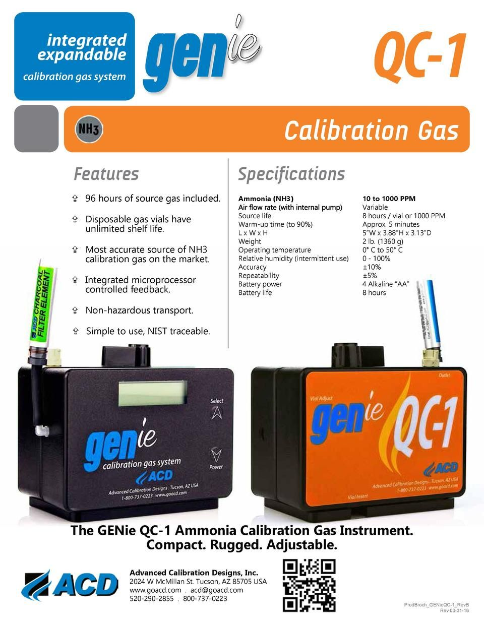 Genie Qc 1 Brochure