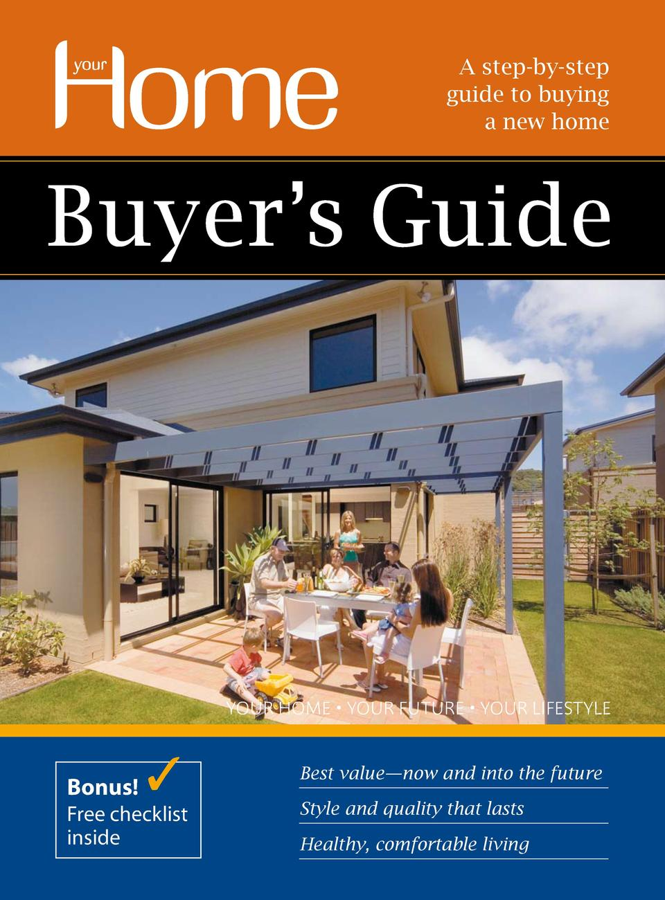 A step-by-step guide to buying a new home  YOUR HOME     YOUR FUTURE     YOUR LIFESTYLE  Bonus  Free checklist inside  Bes...