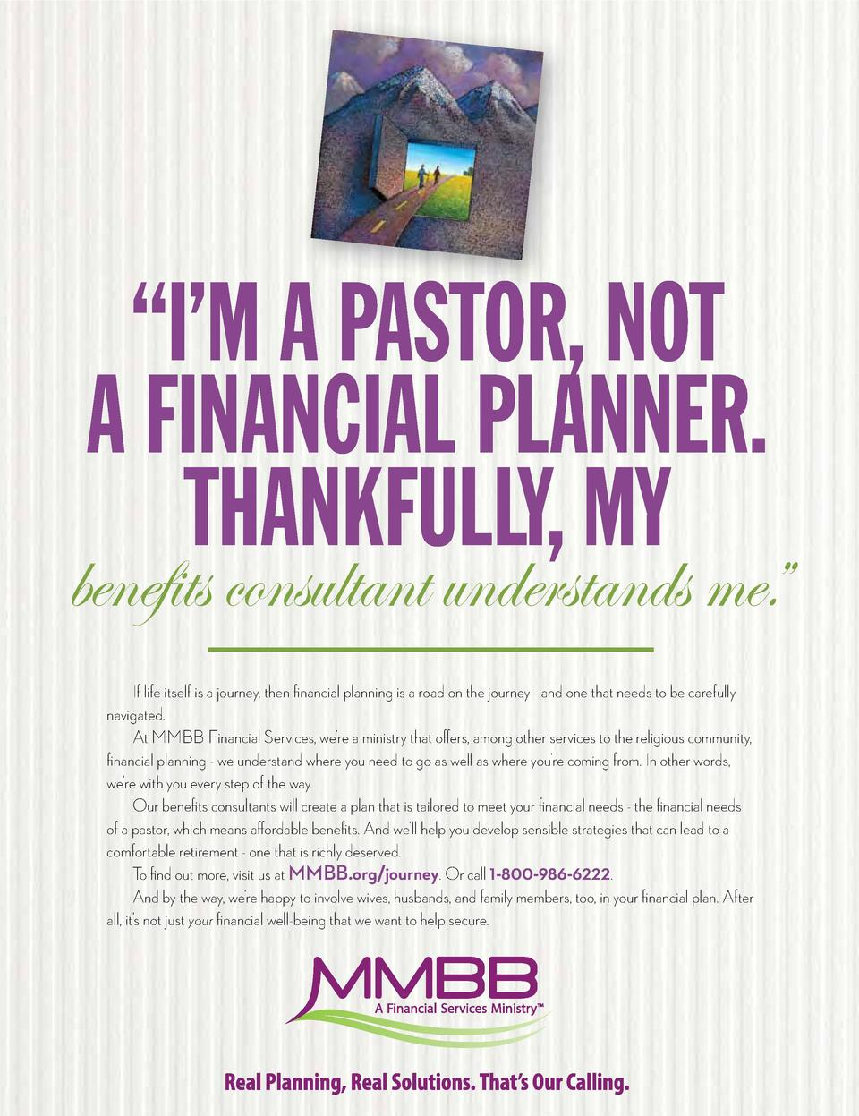 A   I   M COMFORTABLE RETIREMENT AIS PASTOR, NOT SOMETHING AEVERYONE FINANCIAL PLANNER. SHOULD SINK INTO.  THANKFULLY, MY ...