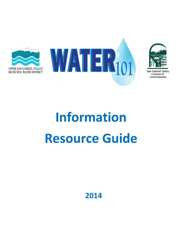 Information Resource Guide  2014