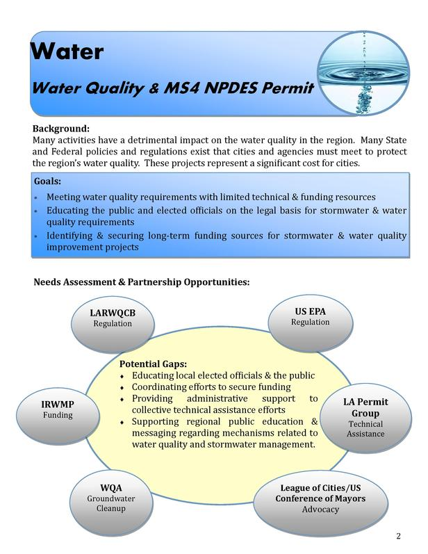 Water Water Quality   MS4 NPDES Permit Background  Many activities have a detrimental impact on the water quality in the r...