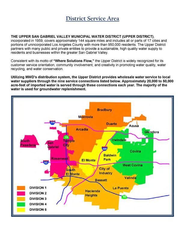 San Jose Water Supply Map