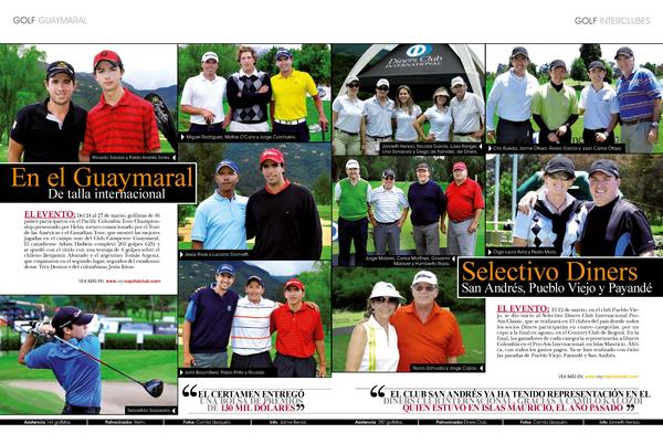golf Guaymaral  golf INTERCLUBES  Miguel Rodr  guez, Mat  as O   Curry y Jorge Corchuelo. Janneth Henao, Nicol  s Garc  a,...