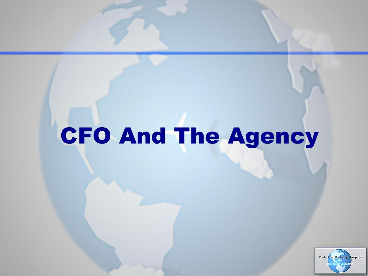 CFO And The Agency  27