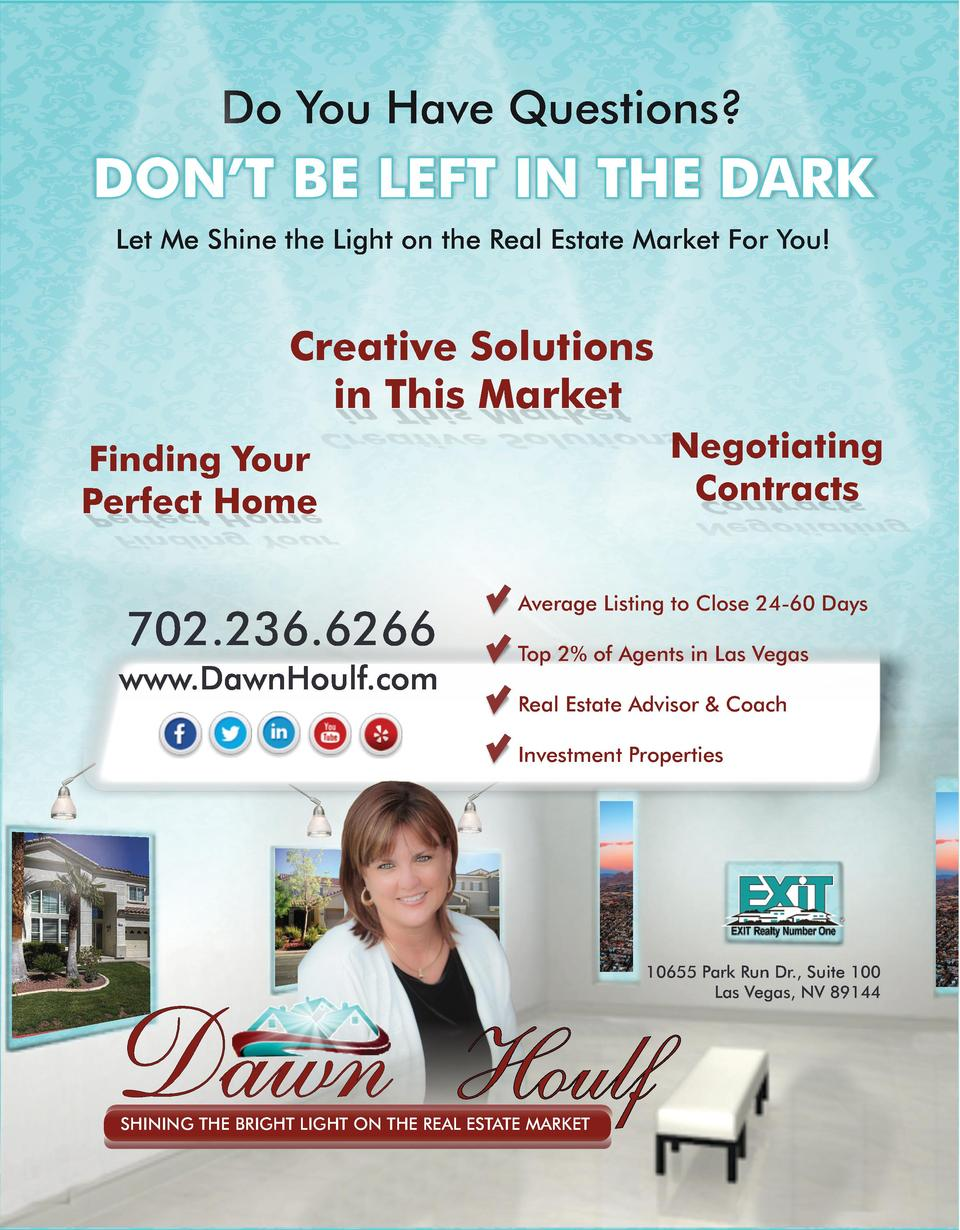 Do You Have Questions   DON   T BE LEFT IN THE DARK Let Me Shine the Light on the Real Estate Market For You   Creative So...