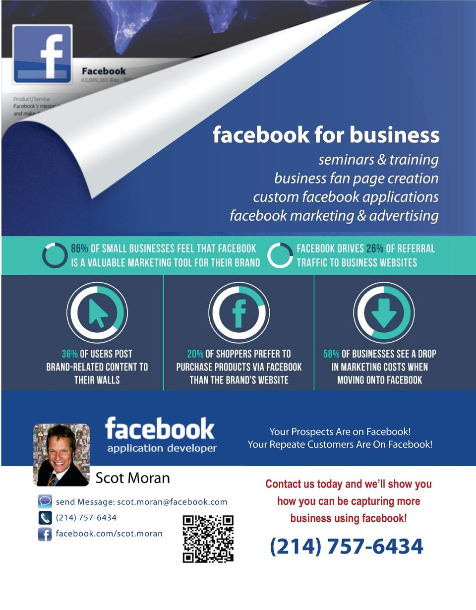 facebook for business seminars   training business fan page creation custom facebook applications facebook marketing   adv...