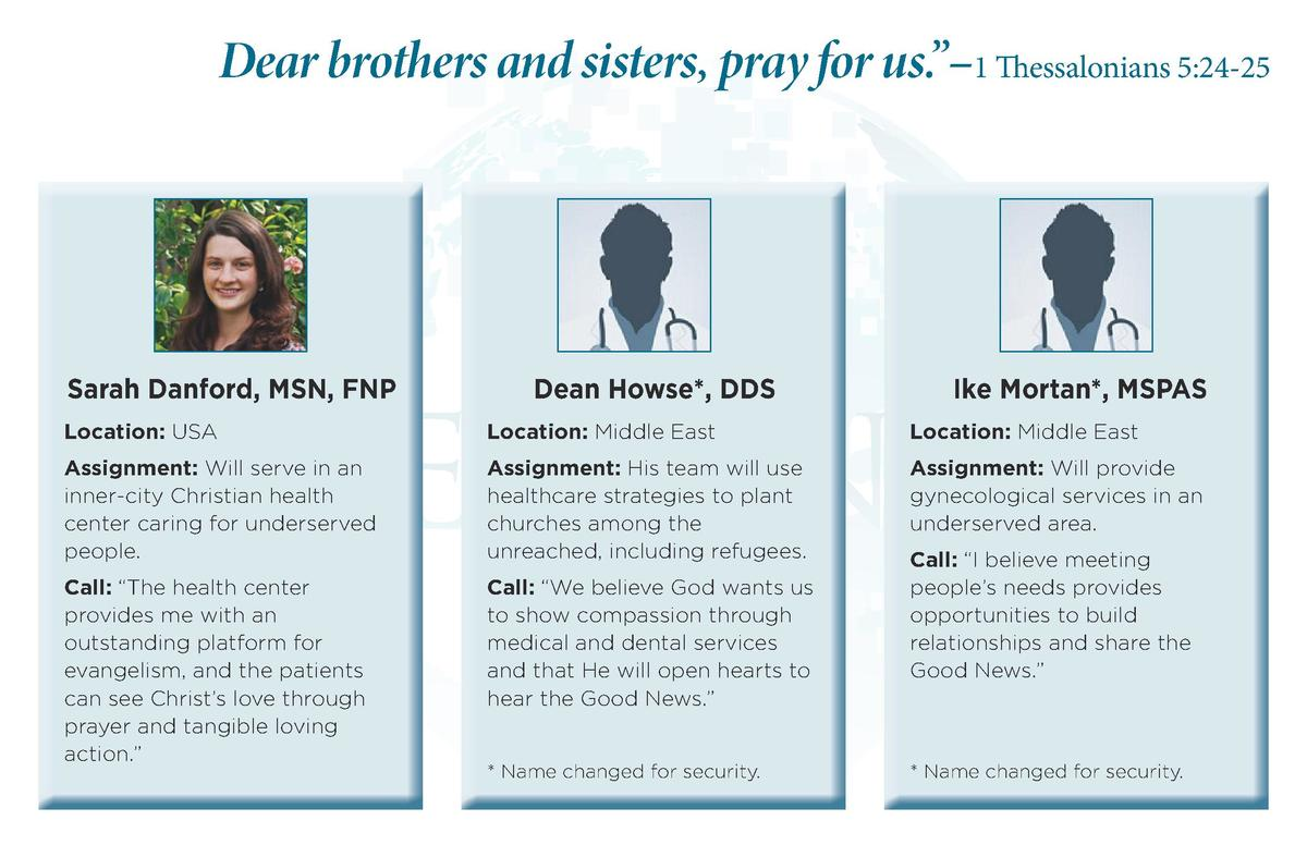 Dear brothers and sisters, pray for us.      1 Thessalonians 5 24-25  Sarah Danford, MSN, FNP  Dean Howse , DDS  Ike Morta...