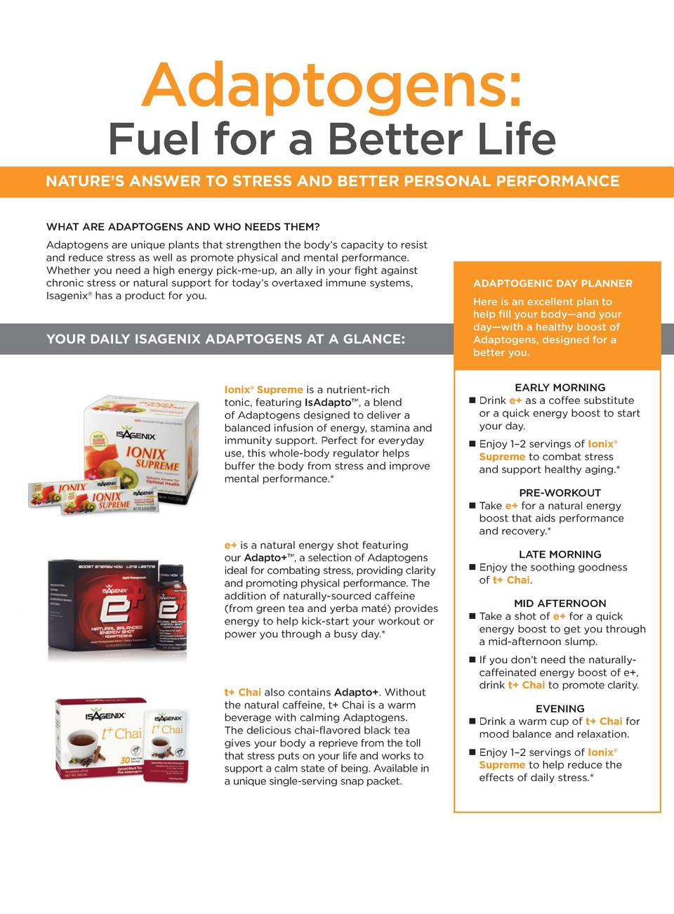 Solutions to transform lives simplebooklet adaptogens fuel for a better life nature s answer to stress and better personal performance what malvernweather Images