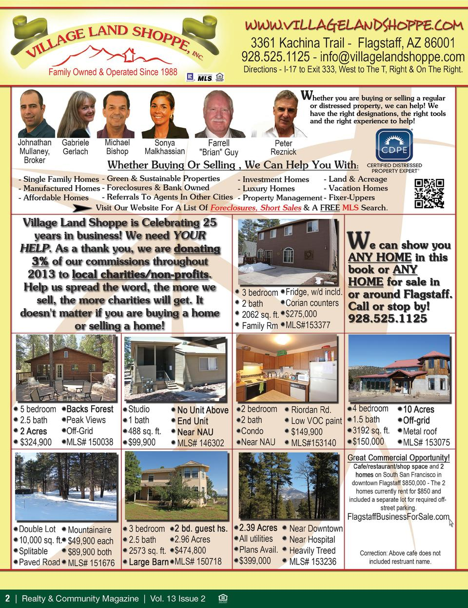 2   Realty   Community Magazine   Vol. 13 Issue 2