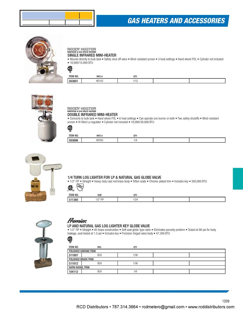 hvac catalog simplebooklet com gas heaters and accessories single infrared mini heater mounts directly to bulk tank safety shut