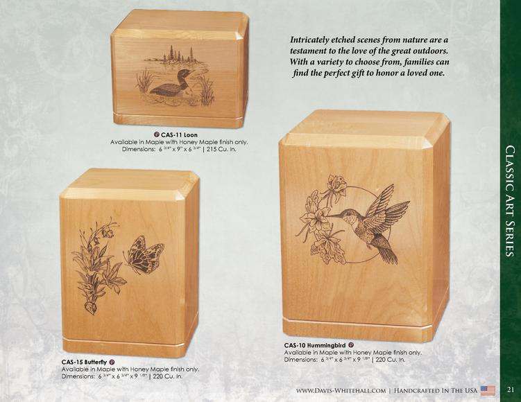 Intricately etched scenes from nature are a testament to the love of the great outdoors. With a variety to choose from, fa...