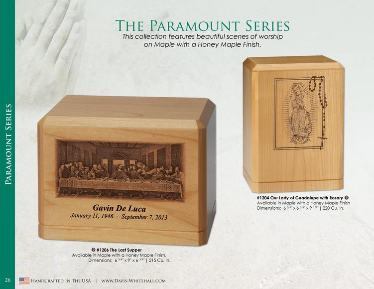 The Paramount Series  Paramount Series  This collection features beautiful scenes of worship on Maple with a Honey Maple F...