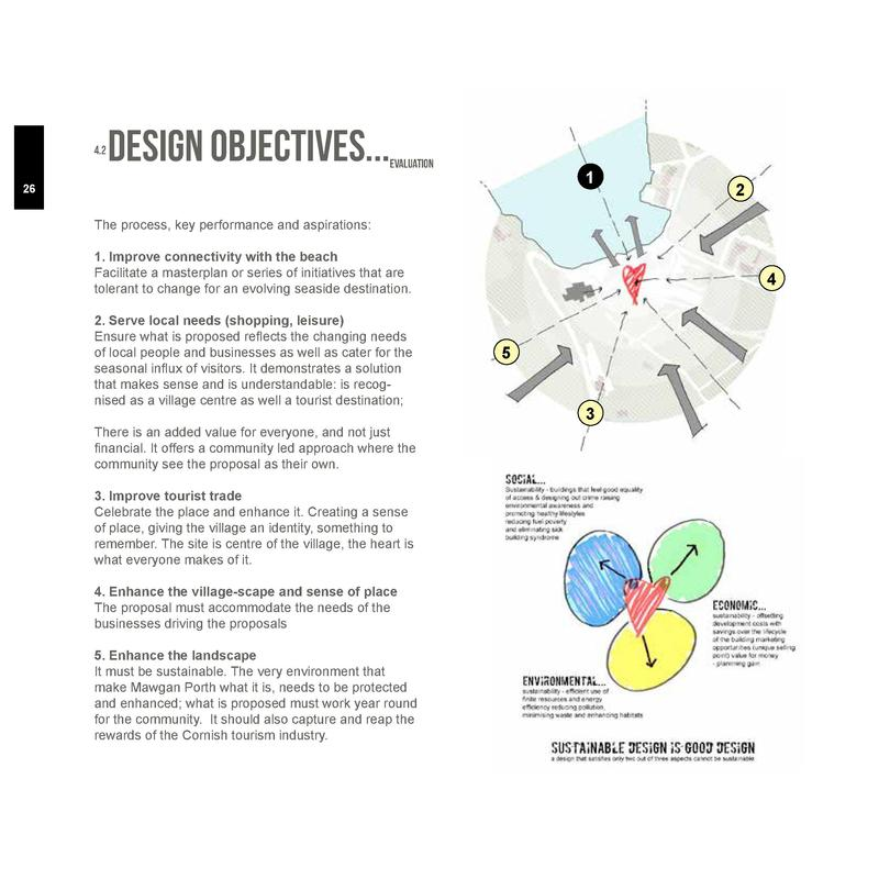 4.2  Design Objectives...  evaluation  1  26  2  The process, key performance and aspirations  1. Improve connectivity wit...