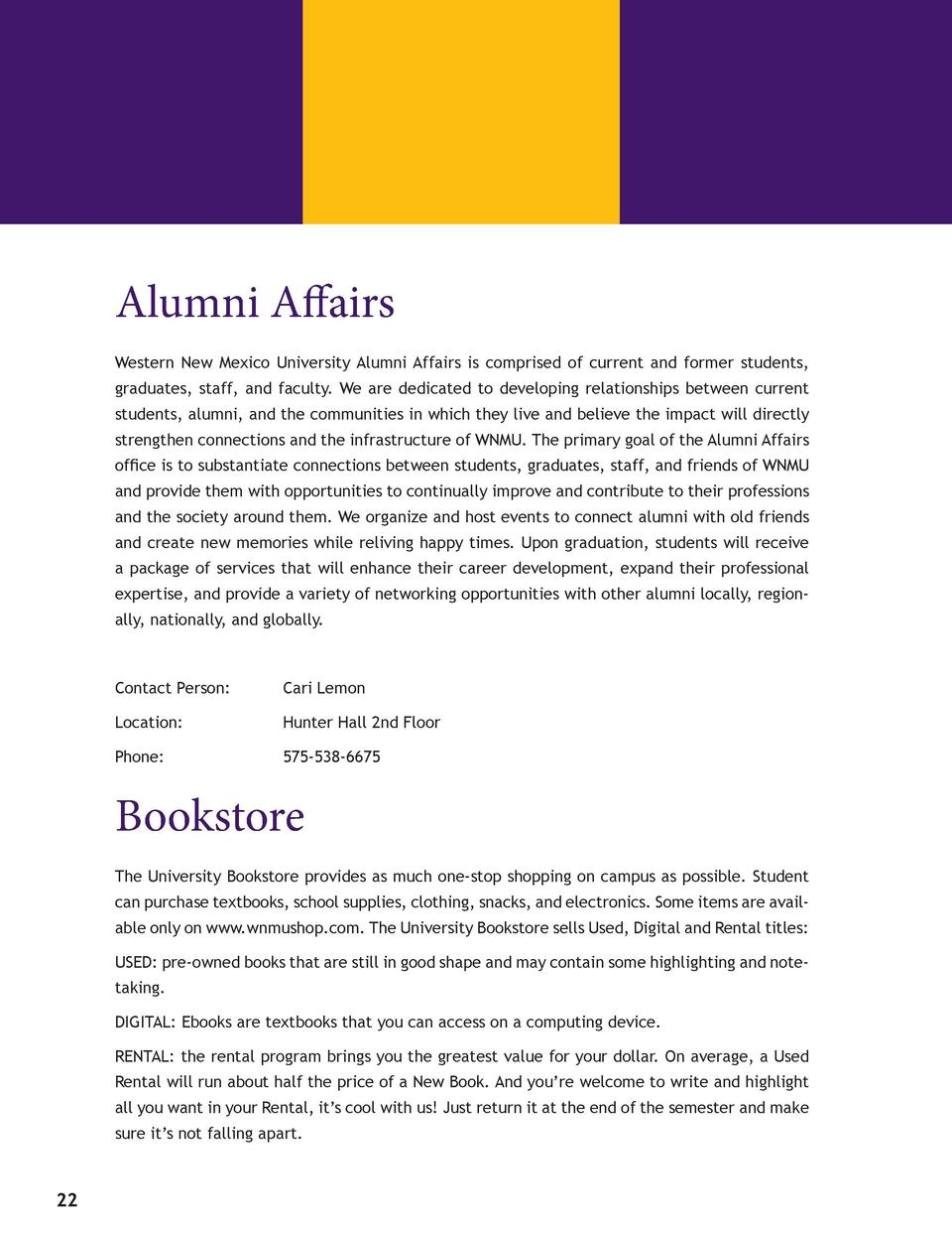 Alumni Affairs Western New Mexico University Alumni Affairs is comprised of current and former students, graduates, sta...