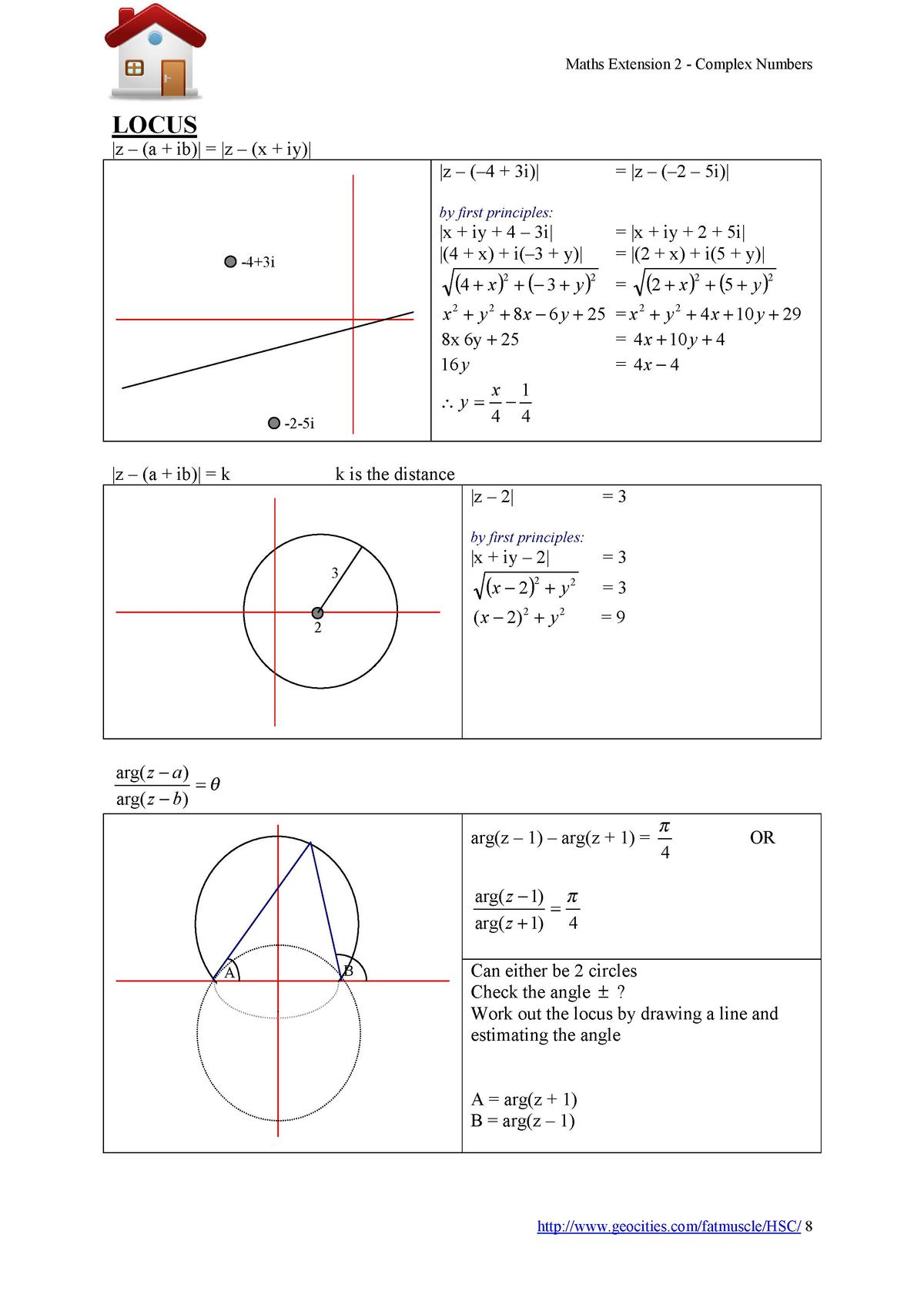 Maths Extension 2 - Complex Numbers  LOCUS  z      a   ib      z      x   iy    z         4   3i       z         2     5i ...