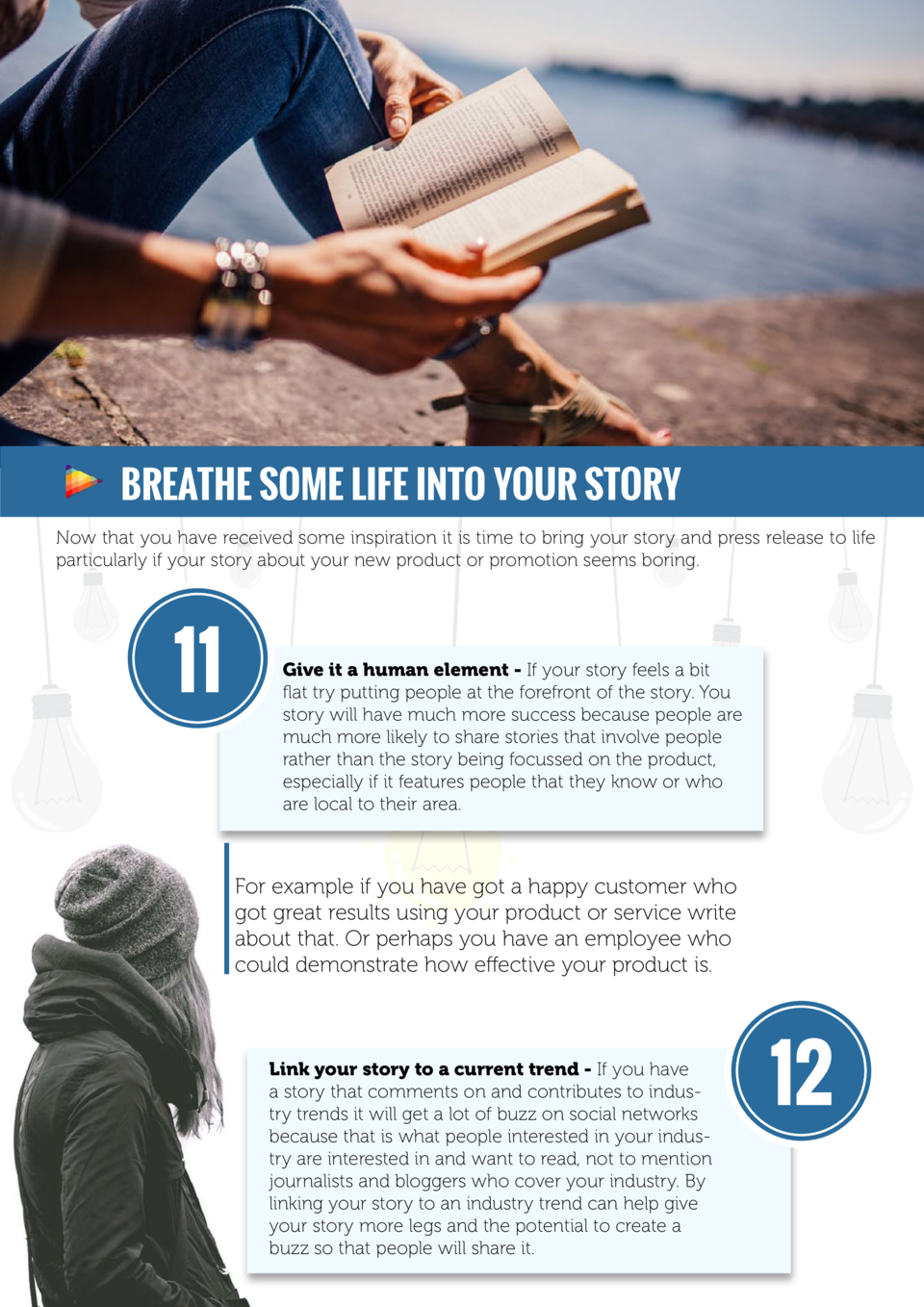 Breathe some life into your story Now that you have received some inspiration it is time to bring your story and press rel...