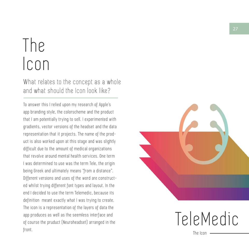 26  27  The Icon TeleMedic By  What relates to the concept as a whole and what should the Icon look like   EMOTIV  EMOTIV ...