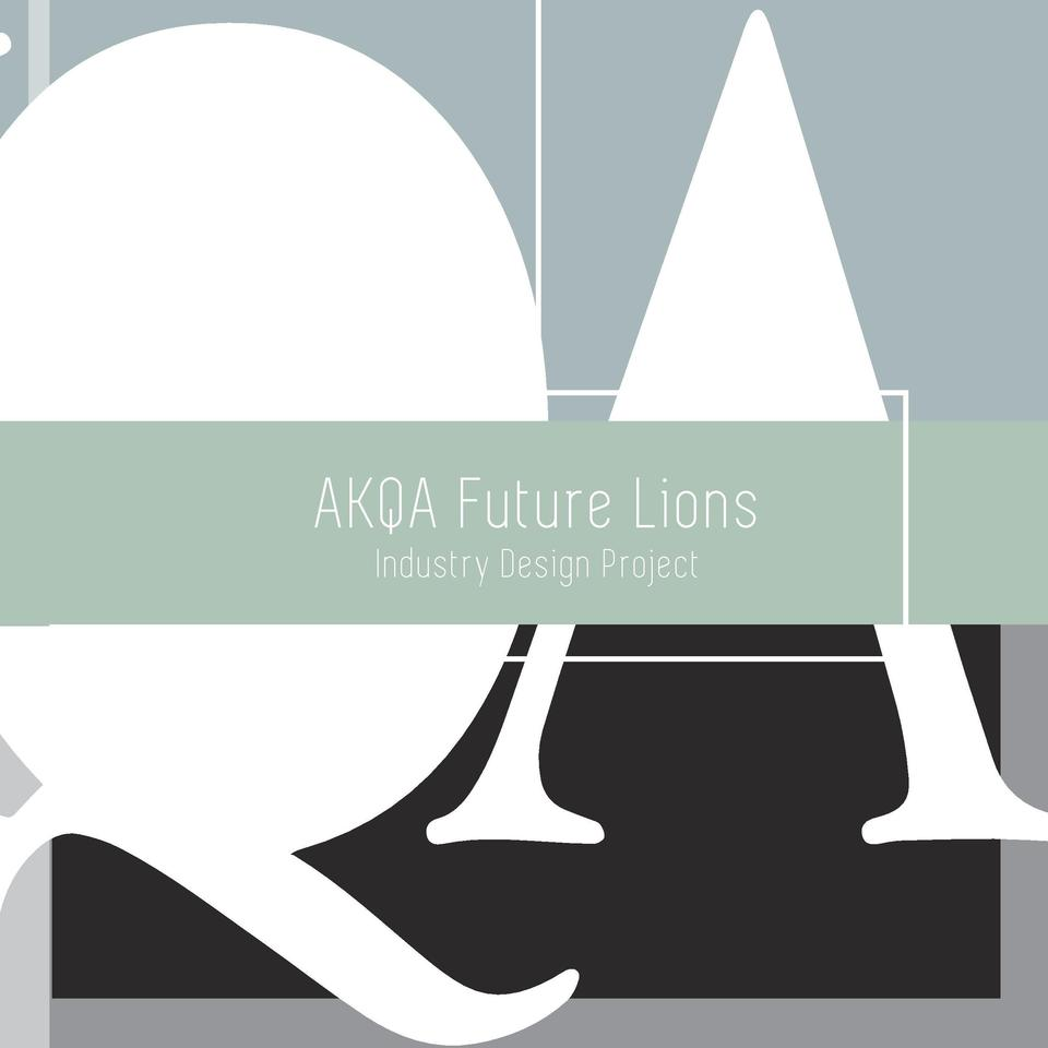 December 12 2014 Christopher Madsen Graphi c and Media Design Year 3 London College of Communication  AKQA Future Lions In...