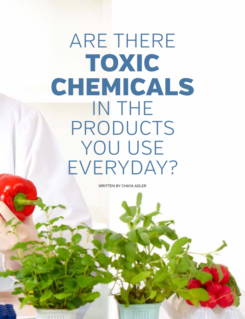 ARE THERE  TOXIC CHEMICALS IN THE PRODUCTS YOU USE EVERYDAY  WRITTEN BY CHAYA ADLER  66   fyimagazineny.com  67   fyimagaz...