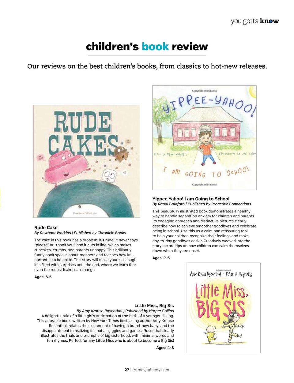 you gotta know  you gotta know  a closer look  children   s book review Our reviews on the best children   s books, from c...