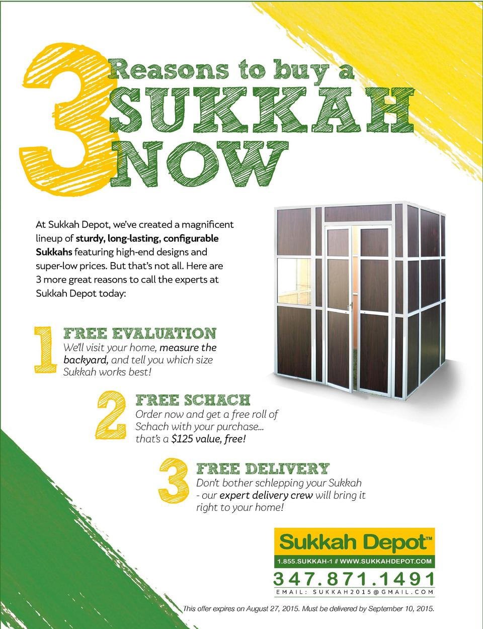 c6e1c0c91f8c contents august 2015 SUKKAH NOW on the cover 22 FASHION ACCESSORY MUST-  HAVES UNDER 50