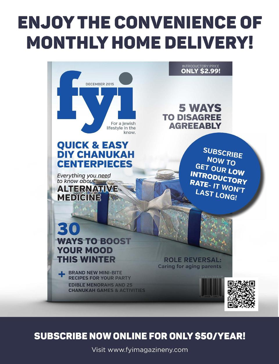 ENJOY THE CONVENIENCE OF MONTHLY HOME DELIVERY   editor   s note  I  believe I was about 10 years old when I received my f...
