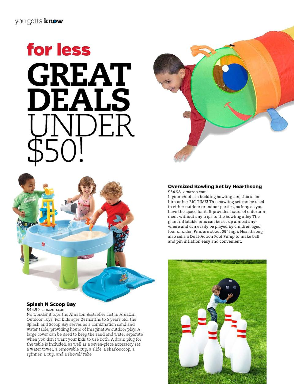 you gotta know  you gotta know  for less  GREAT DEALS UNDER  50   Happy Giddy Tunnel by Melissa and Doug  23.99- target.co...