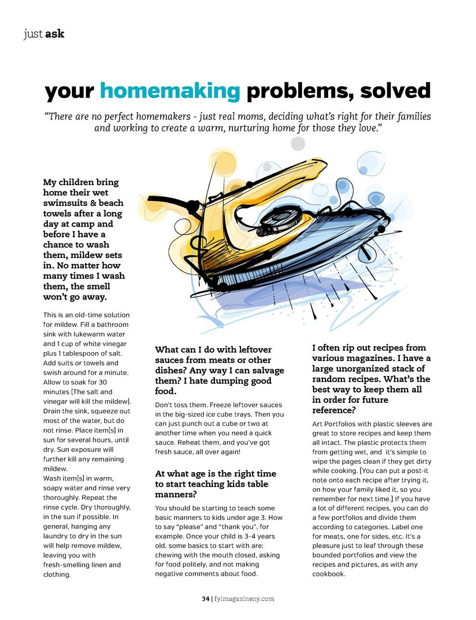 just ask  just ask  2015 update going on now  your homemaking problems, solved    There are no perfect homemakers - just r...