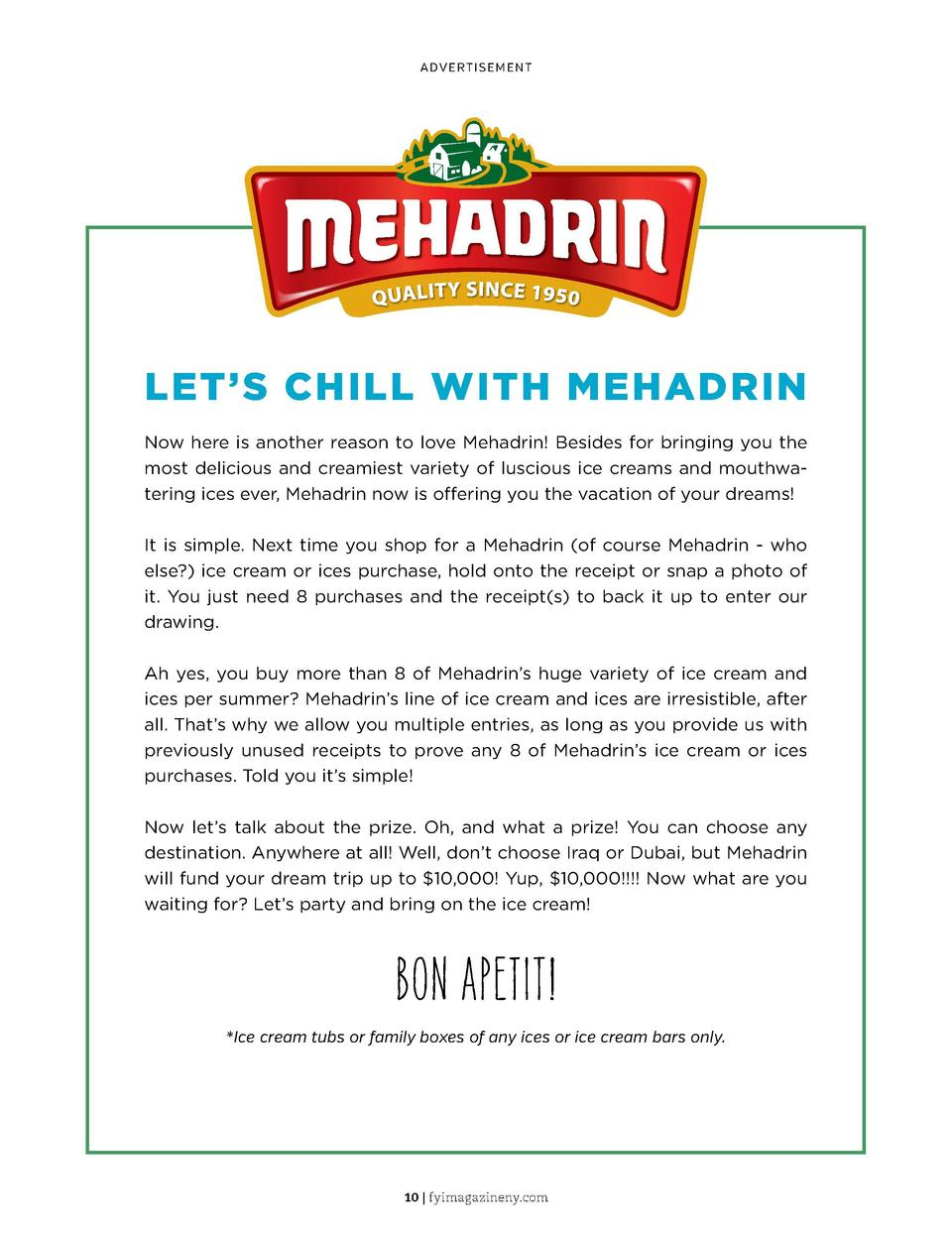 ADVERTISEMENT  you gotta know pg  24  LET   S CHILL WITH MEHADRIN  Outdoor Toys for Under  500  Now here is another reason...