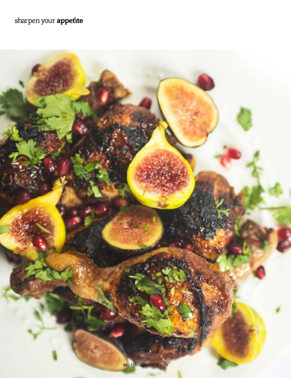 sharpen your appet  te  MAIN  Jeweled Chicken SHUSHY TURIN   COOKING IN HEELS  Making this chicken recipe for Rosh Hashana...