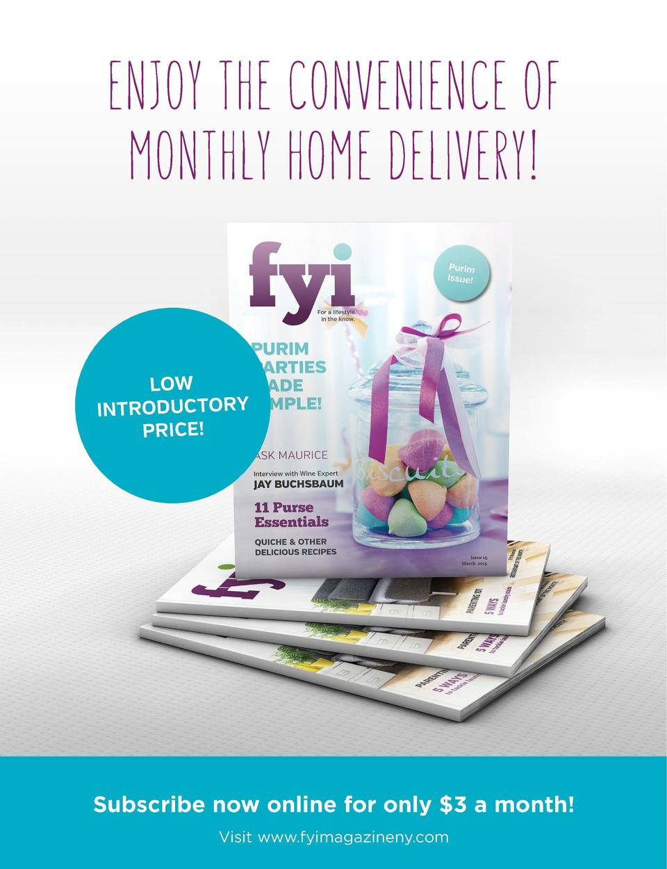 just ask  ENJOY THE CONVENIENCE OF MONTHLY HOME DELIVERY   pg  30  Your Housekeeping Problems, Solved pg  Money  Personal ...