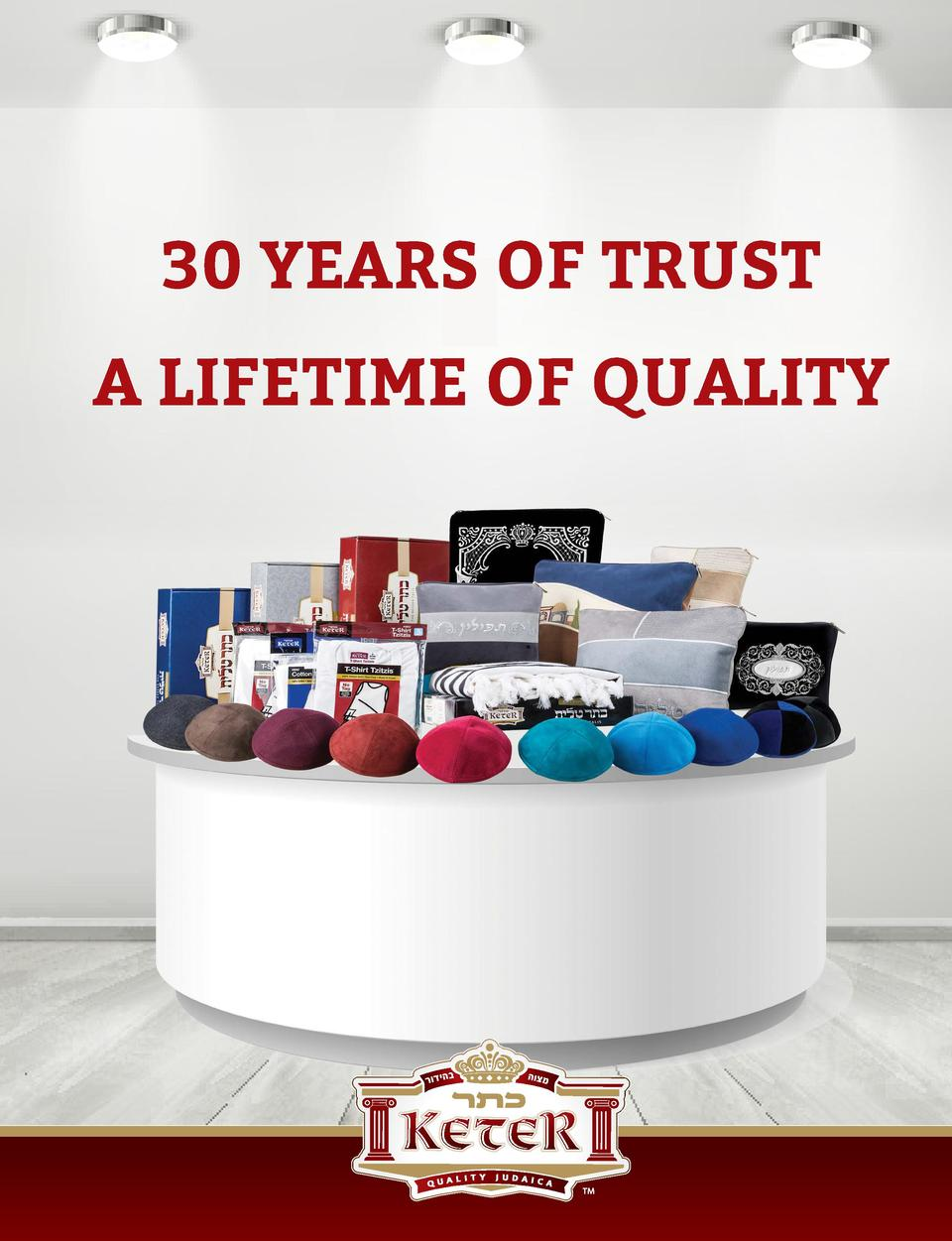 30 YEARS OF TRUST A LIFETIME OF QUALITY  FYI MAGAZINE    104