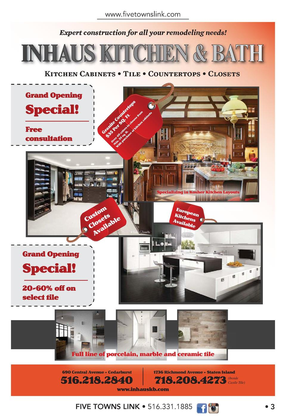www.   vetownslink.com Expert construction for all your remodeling needs   Kitchen Cabinets Tile Countertops  itc he n  fr...