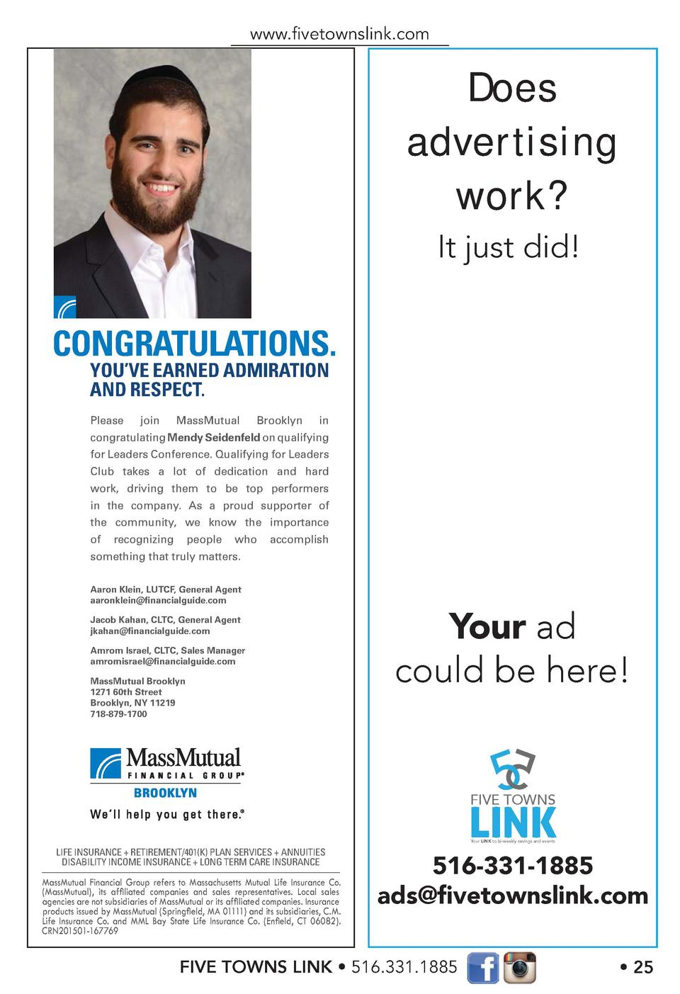 www.   vetownslink.com  Does advertising work  It just did   CONGRATULATIONS. YOU   VE EARNED ADMIRATION AND RESPECT. Plea...