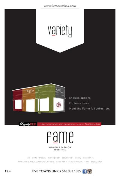 www.   vetownslink.com  v riety  Endless options. Endless colors. Meet the Fame fall collection.  LEGALLY RED, a collectio...