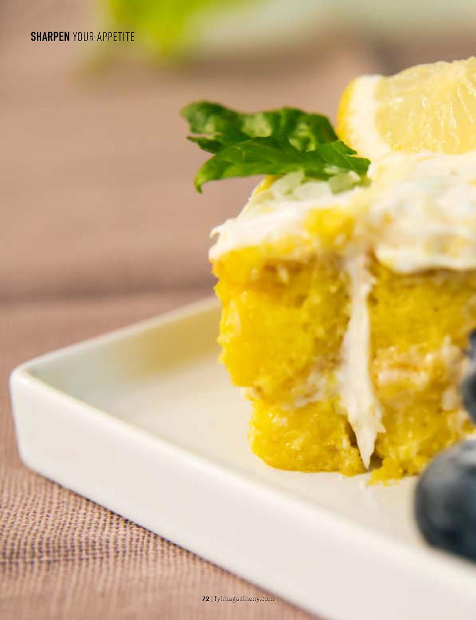 SHARPEN YOUR APPETITE  SHARPEN YOUR APPETITE  Lemon Coconut Poke Cake Poke cakes are simple and fun to make. This is one r...