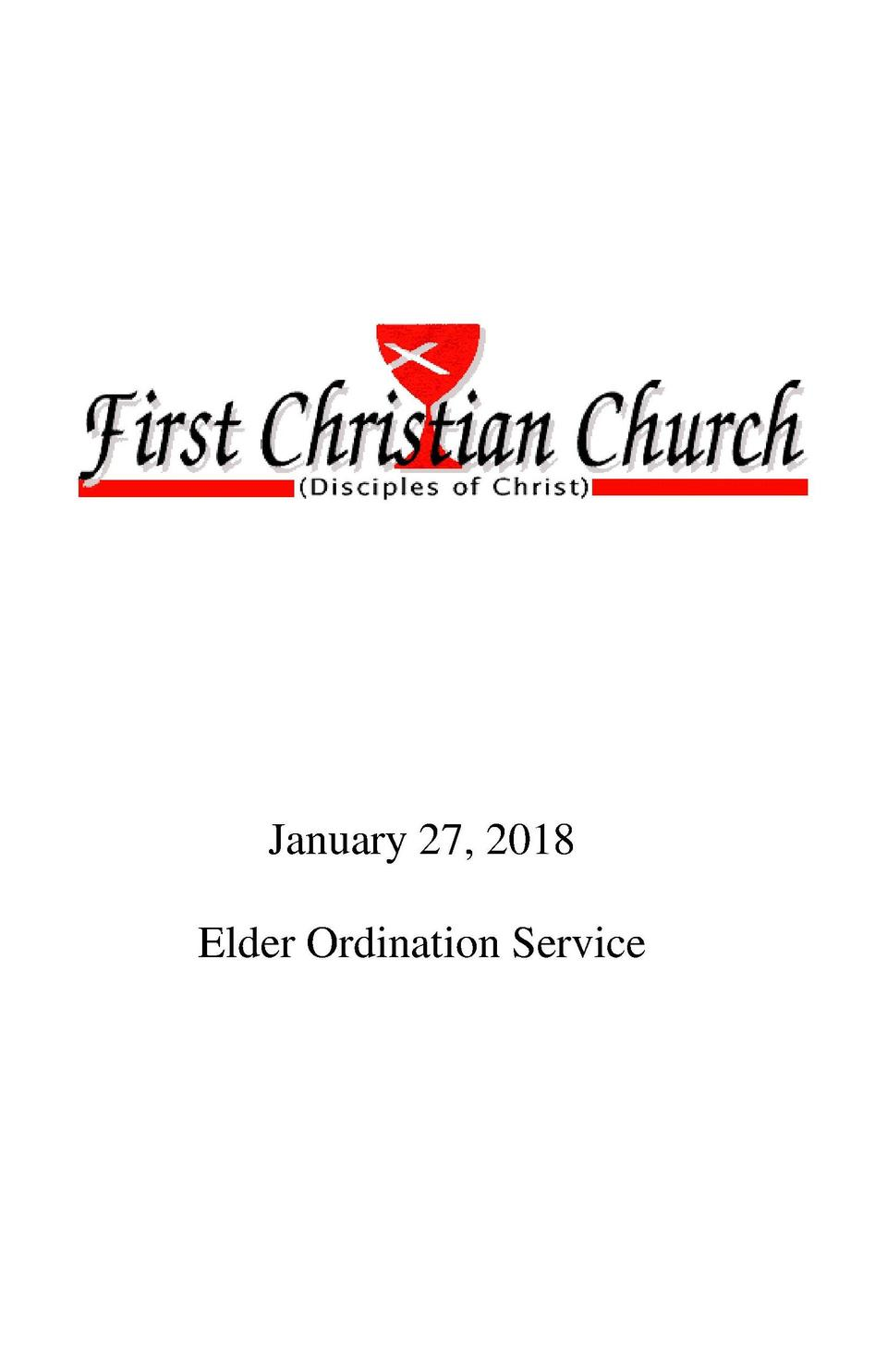 Invite Elders forward to lay on hands     Mike Lorenzen Ordination Prayer  Gracious God, the giver of every good and perfe...