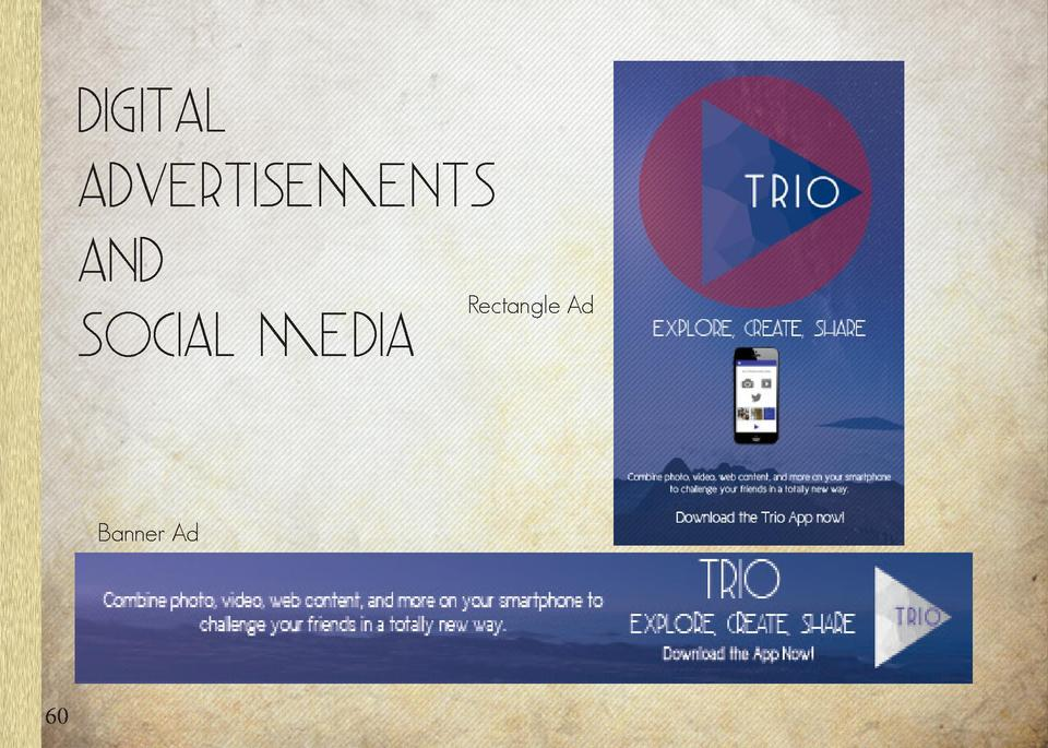 Dig ital Advertisements And Social Media  Rectangle Ad  Banner Ad  60  61