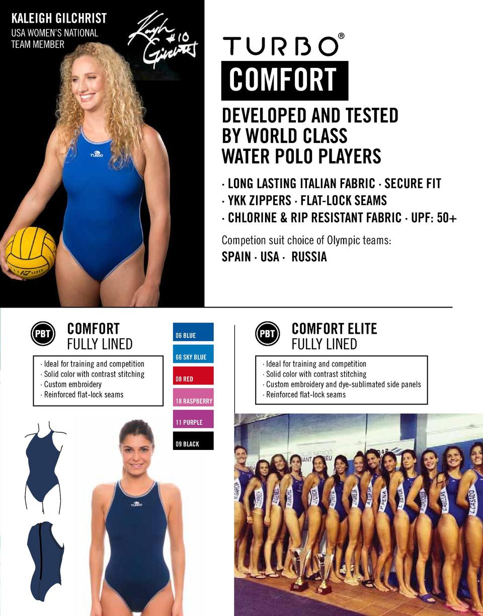 KALEIGH GILCHRIST USA WOMEN   S NATIONAL TEAM MEMBER  COMFORT DEVELOPED AND TESTED BY WORLD CLASS WATER POLO PLAYERS    LO...
