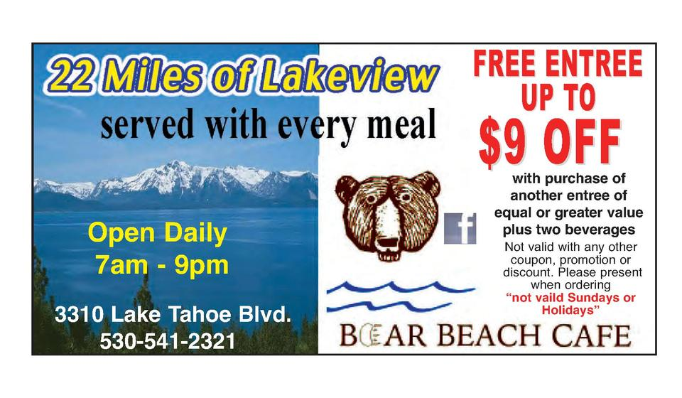Lake tahoe discount coupons