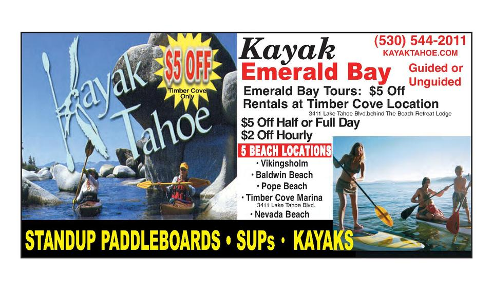 Tahoe discount coupons