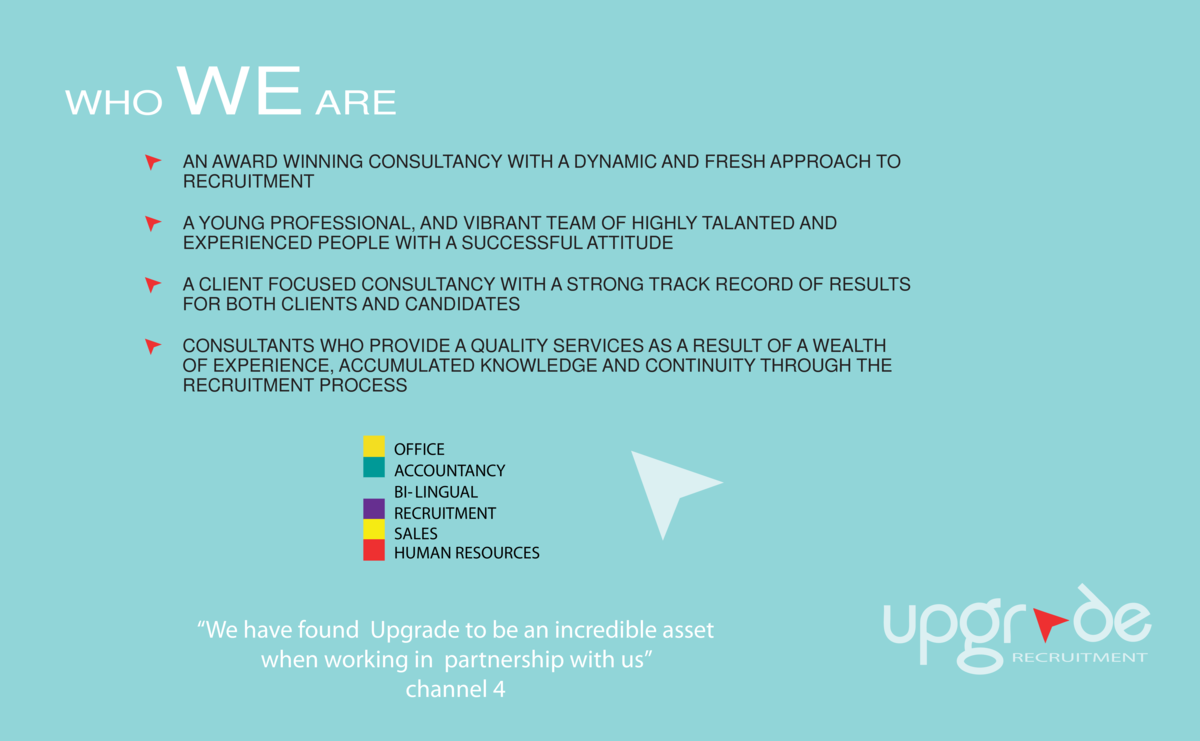 WHO  WE ARE AN AWARD WINNING CONSULTANCY WITH A DYNAMIC AND FRESH APPROACH TO RECRUITMENT A YOUNG PROFESSIONAL, AND VIBRAN...
