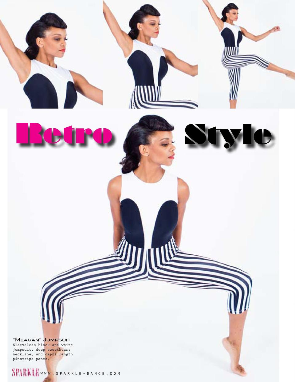 Retro  Style     Katie    Dress Black and white dress with striped side body, dropwaist mini organza skirt and attached bi...