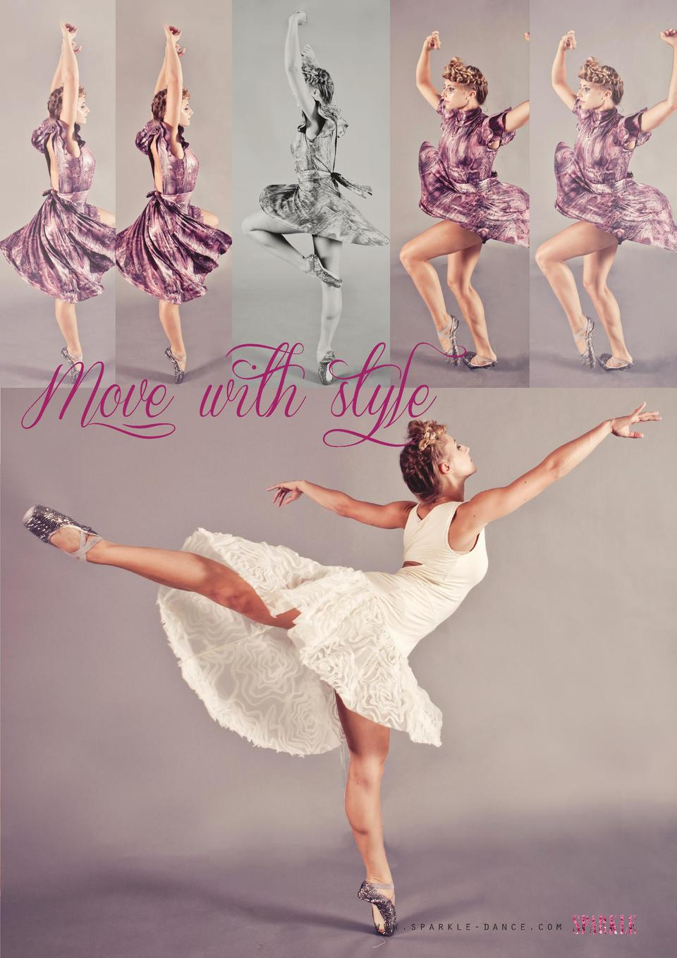 Move with style  www.sparkle-dance.com