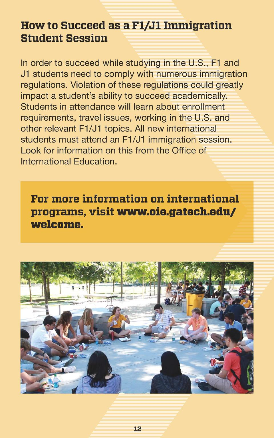 How to Succeed as a F1 J1 Immigration Student Session In order to succeed while studying in the U.S., F1 and J1 students n...