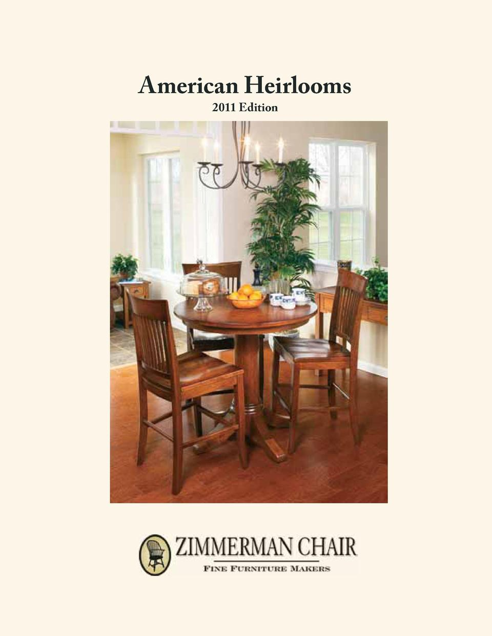 Terrific American Heirloom Furniture Simplebooklet Com Ocoug Best Dining Table And Chair Ideas Images Ocougorg