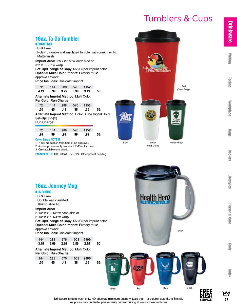 Promotional Products - Crown : simplebooklet.com