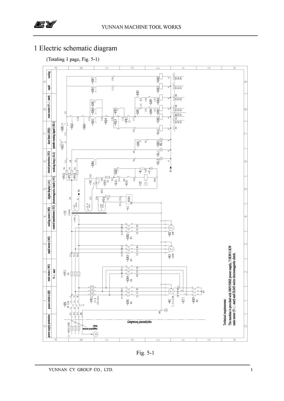 Manual Yunnan Lathe Electrical L16 30 Wiring Diagram 380v 50hz 2 Pe L2 L3 L1 T2 T1 Cy Group Co