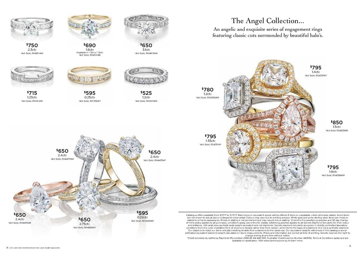 The Angel Collection... An angelic and exquisite series of engagement rings featuring classic cuts surrounded by beautiful...